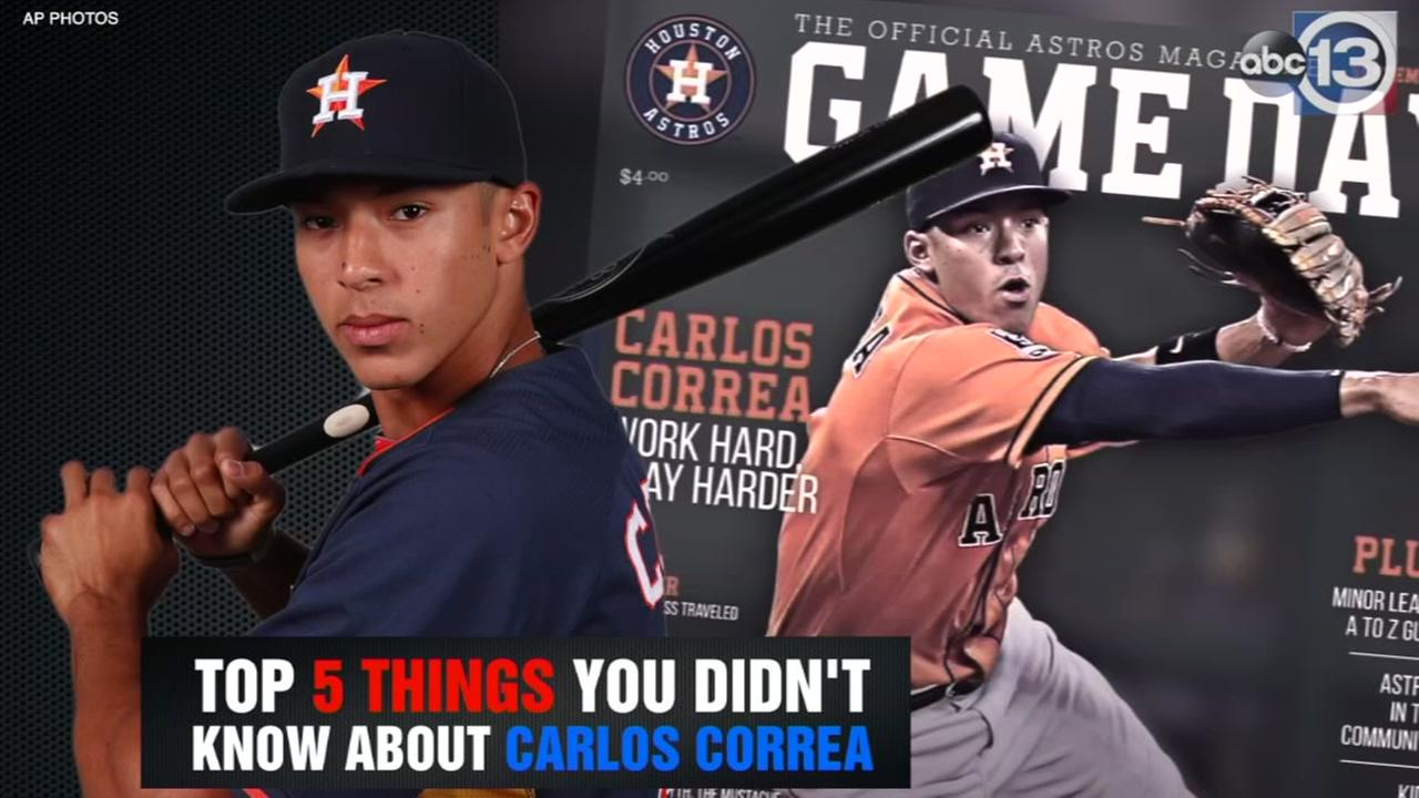 Top 5 things you didnt know about Carlos Correa