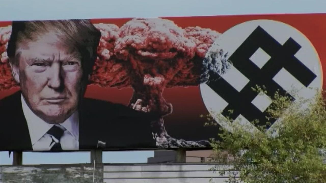 Trump billboard raises eyebrows in Phoenix