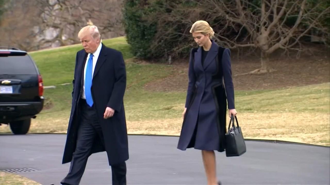 Ivanka Trump West Wing office