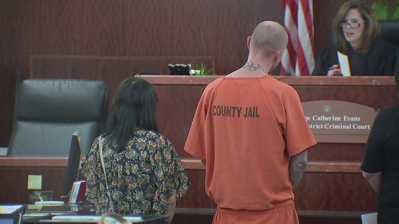 Parents of abandoned baby in court