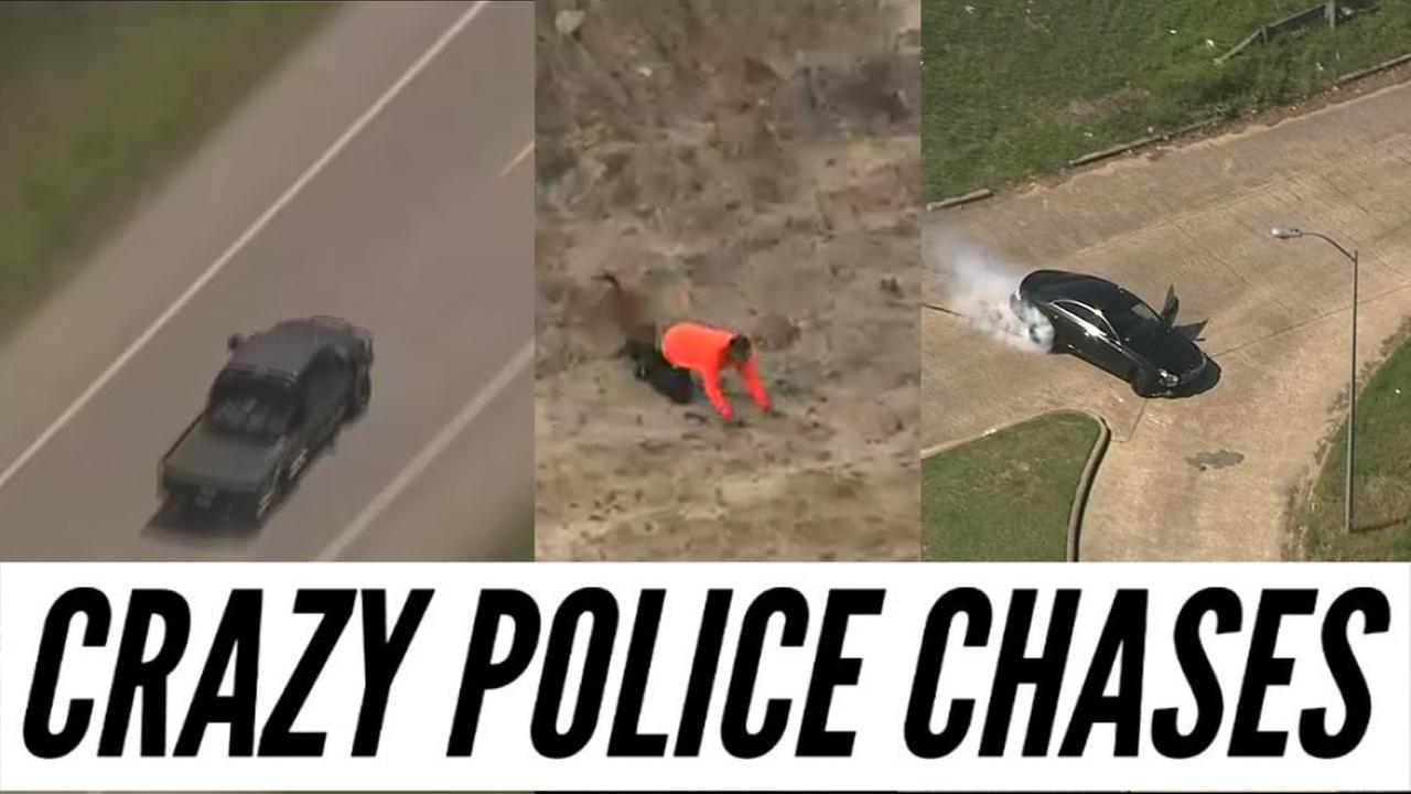 Our area has seen several bizarre chases recently.