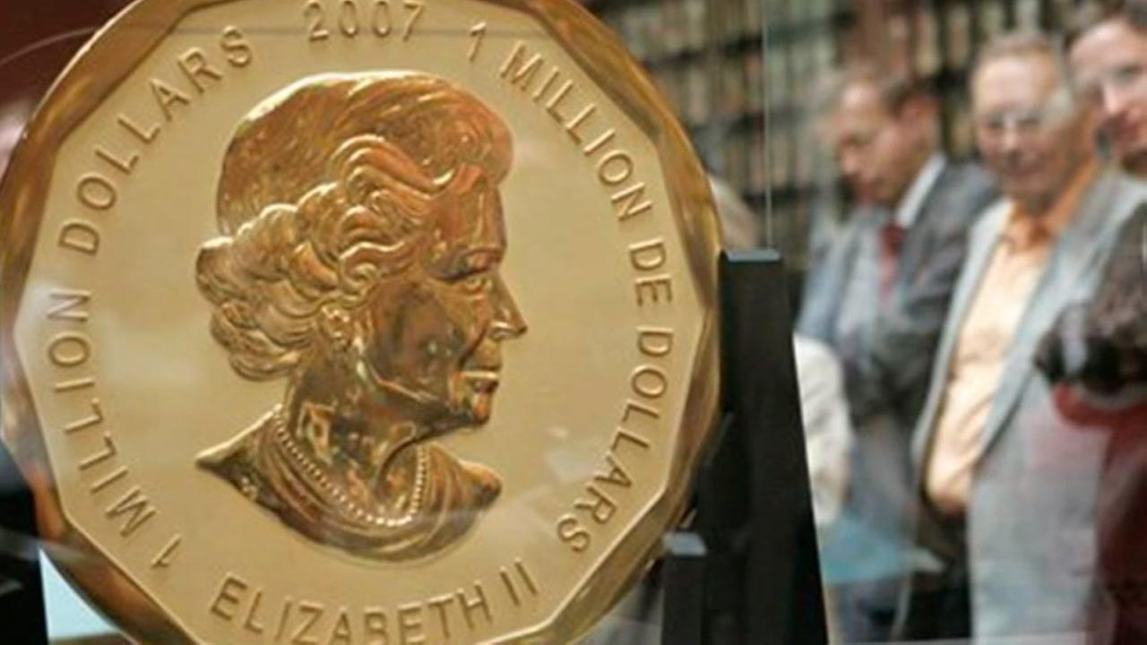 Gold coin worth $4.5M stolen from museum in Germany.