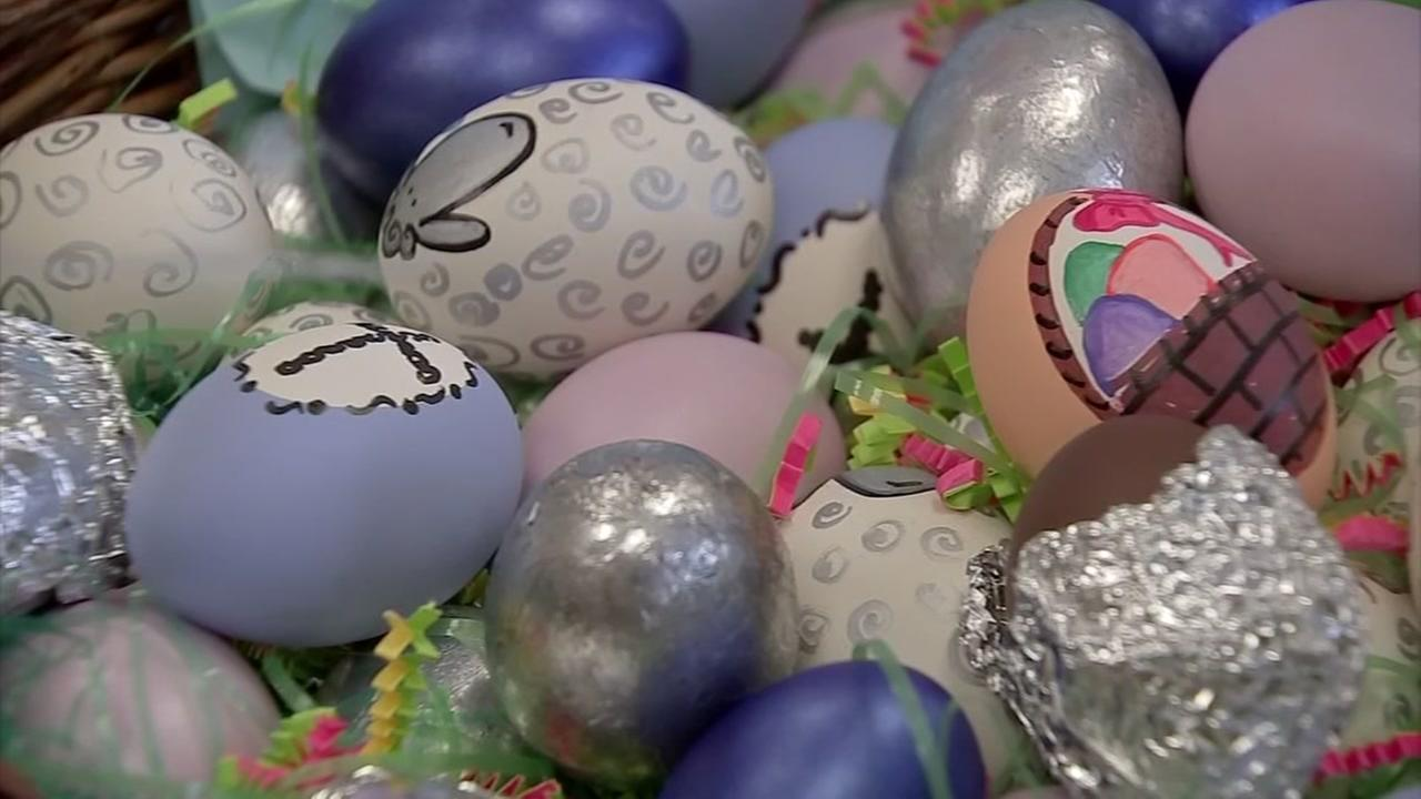 The Blue Bird Circle hosts annual Easter basket and egg sale.
