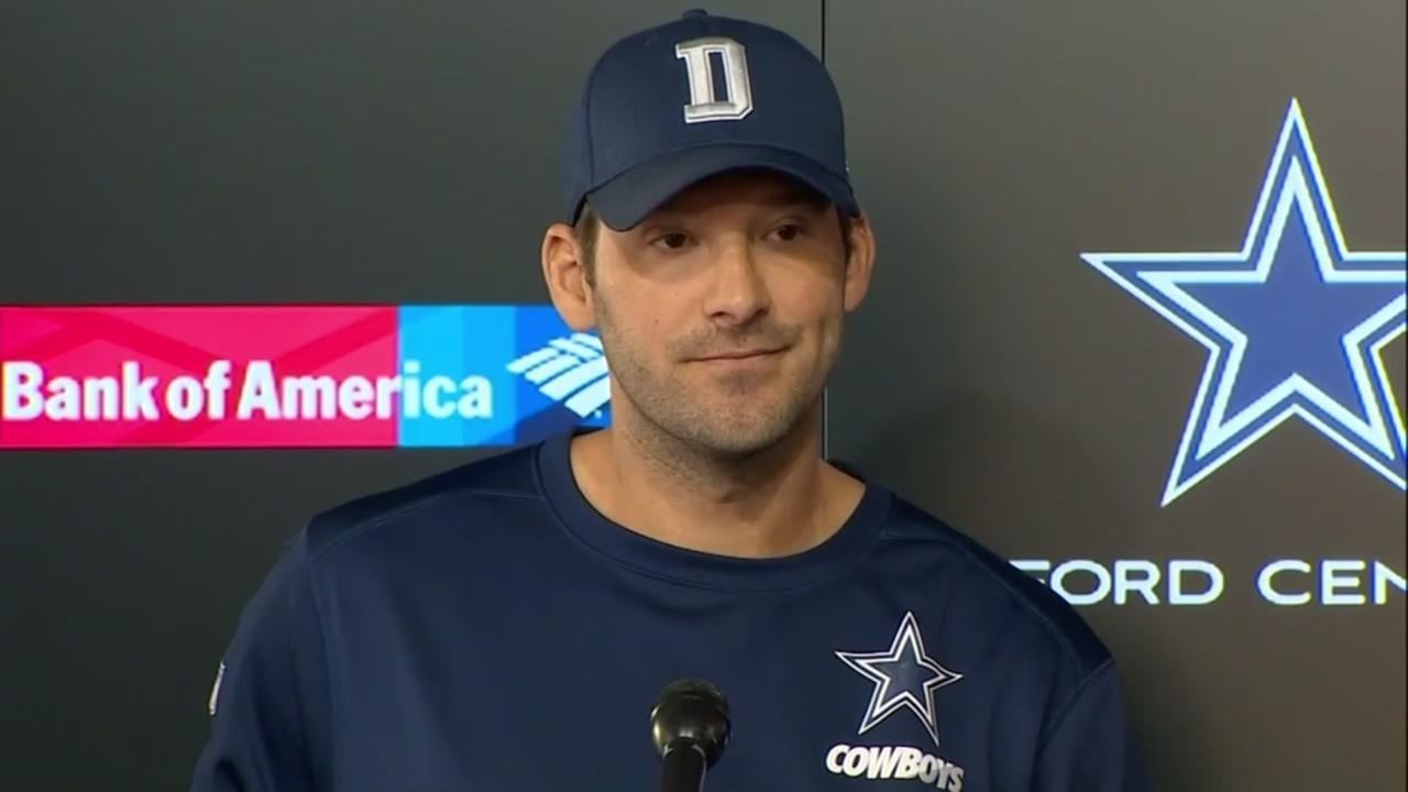 Dallas QB Tony Romo announces retirement