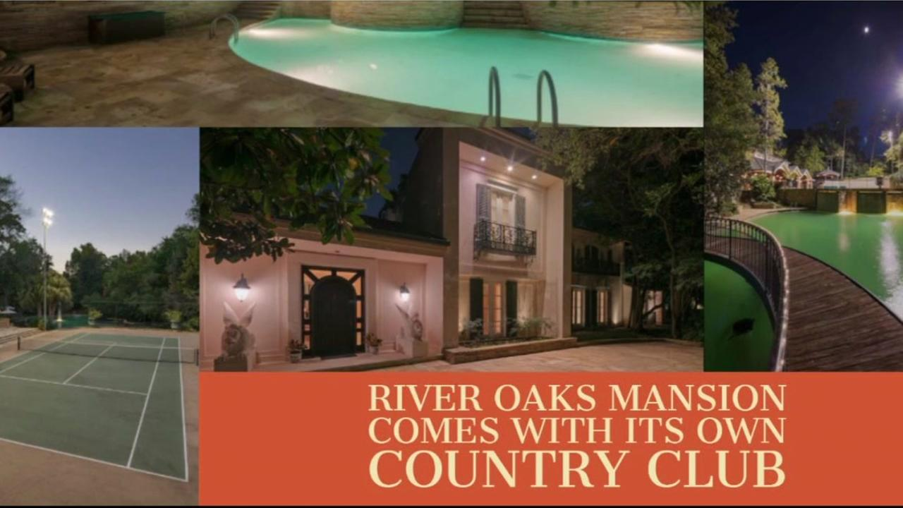 Three swimming pools, a tennis court and much more. This River Oaks house has it all!