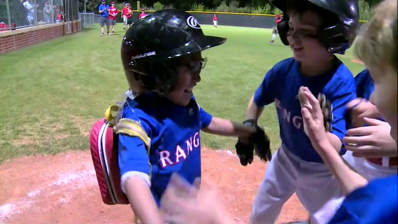 8-year-old gets shot in Little League