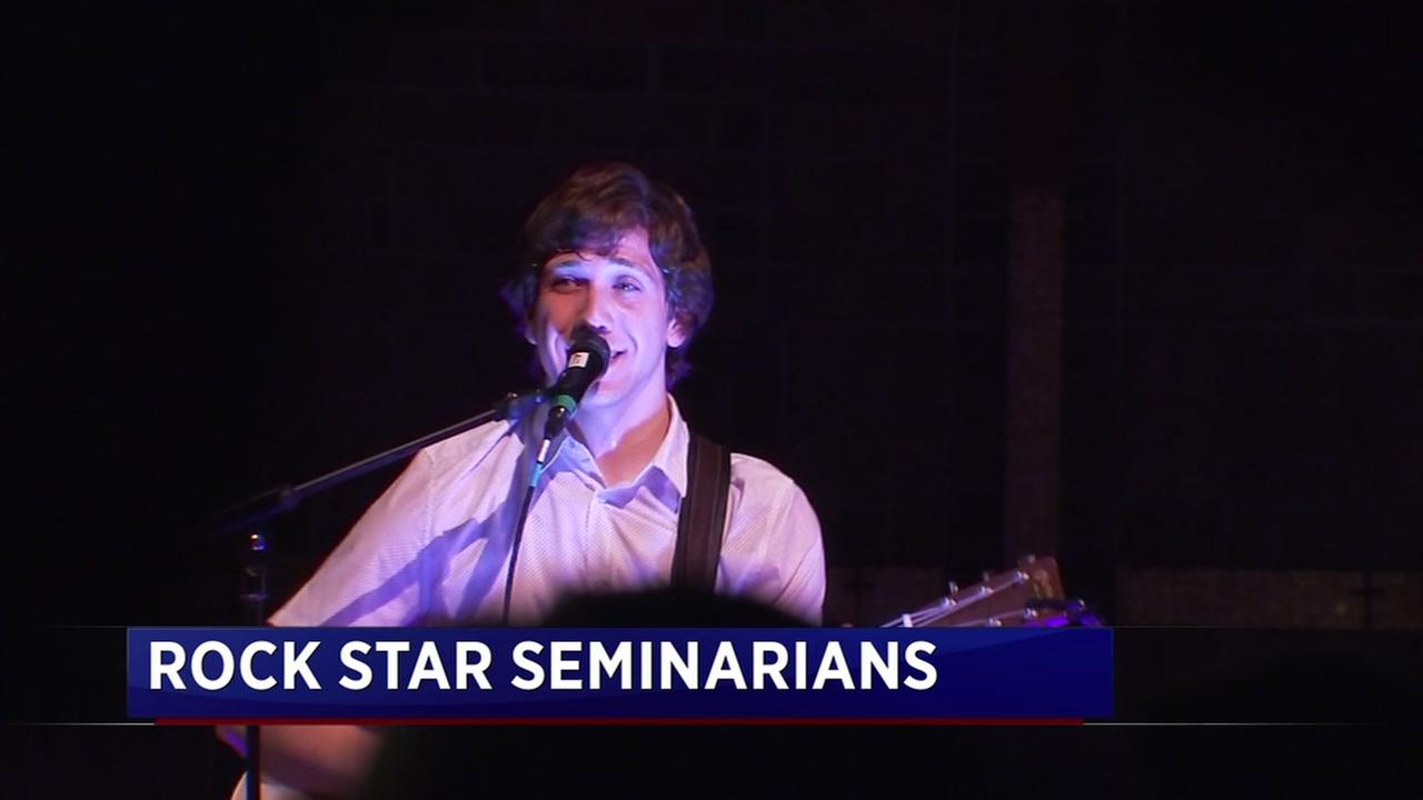 Seminarian uses music to inspire youth