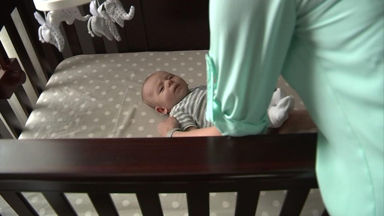 New recommendations for baby sleeping safety