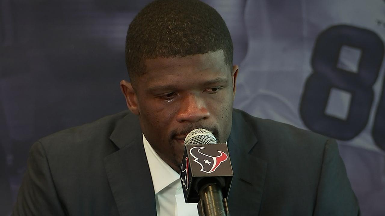 Andre Johnson Retirement Ceremony