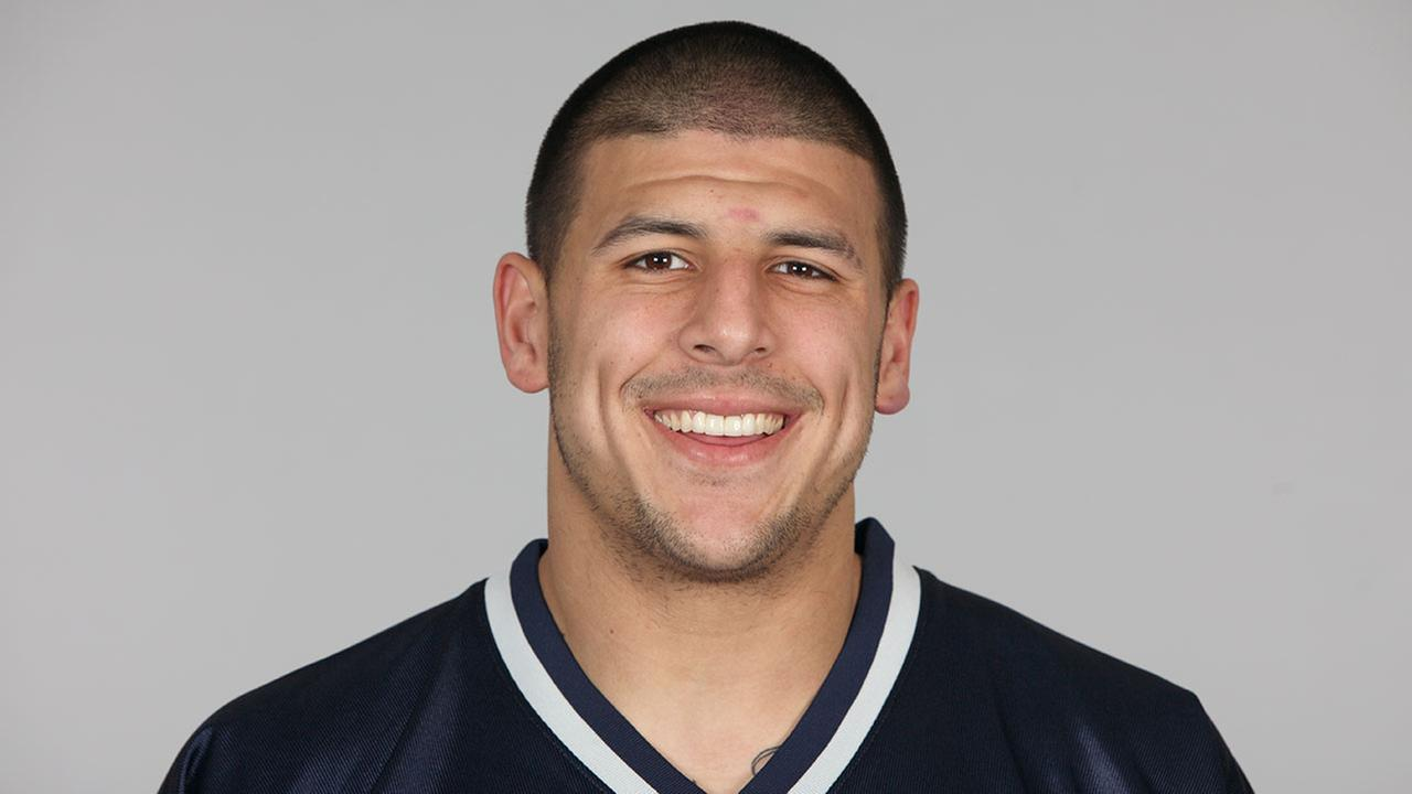 This is a photo of Aaron Hernandez of the New England Patriots NFL football team. This image reflects the New England Patriots active roster as of Tuesday, Aug. 9, 2011.