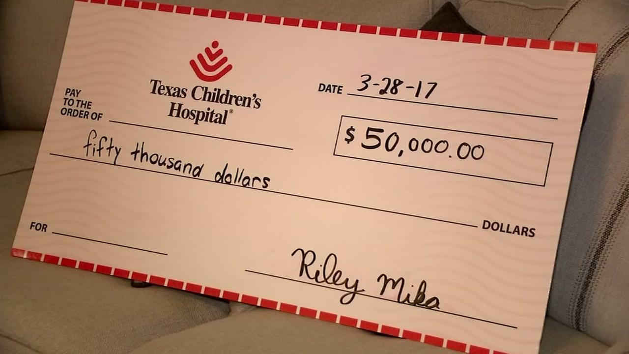 Texas Childrens hospital receives big donation from ABC13 viewer