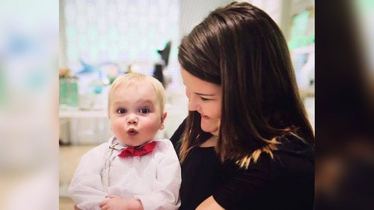 Adorable toddler with heart defect goes to prom
