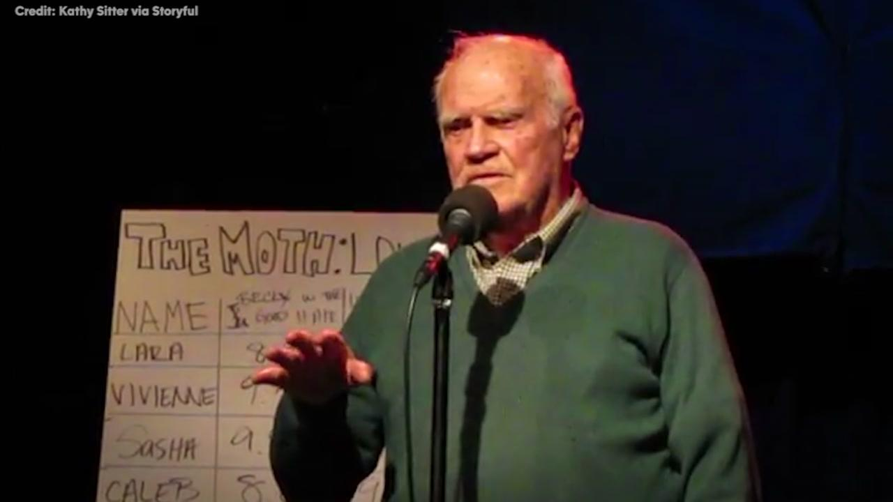 93-year-old veteran wins open mic with funny 1933 Valentines Day story