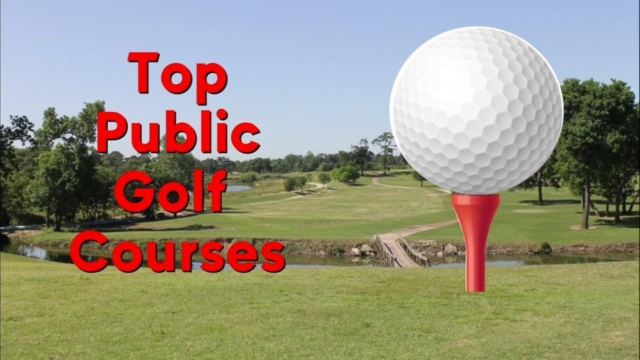 Top public golf courses in Houston area