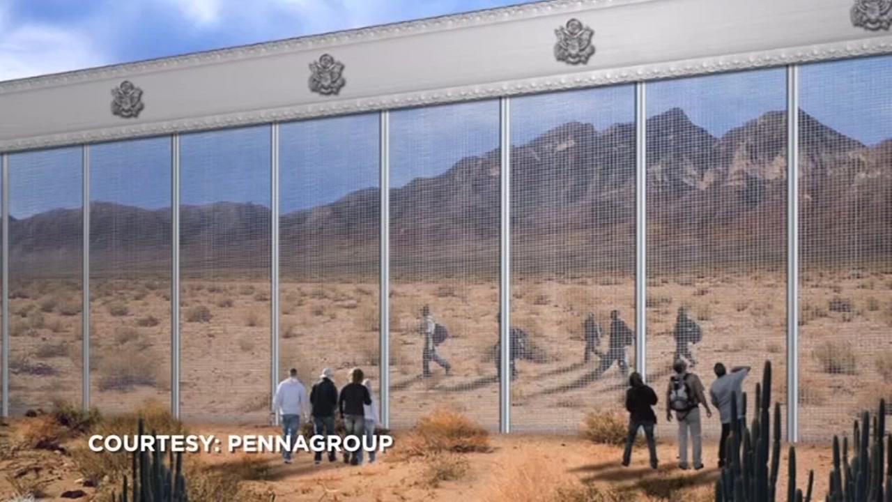 Texas companies bid to build $20 million border wall