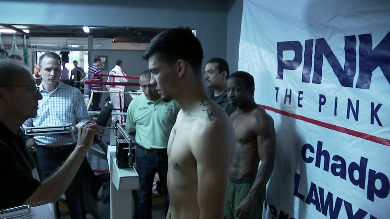 Arturo Marquez, will take his undefeated record to the test at the Ballroom at Bayou Place