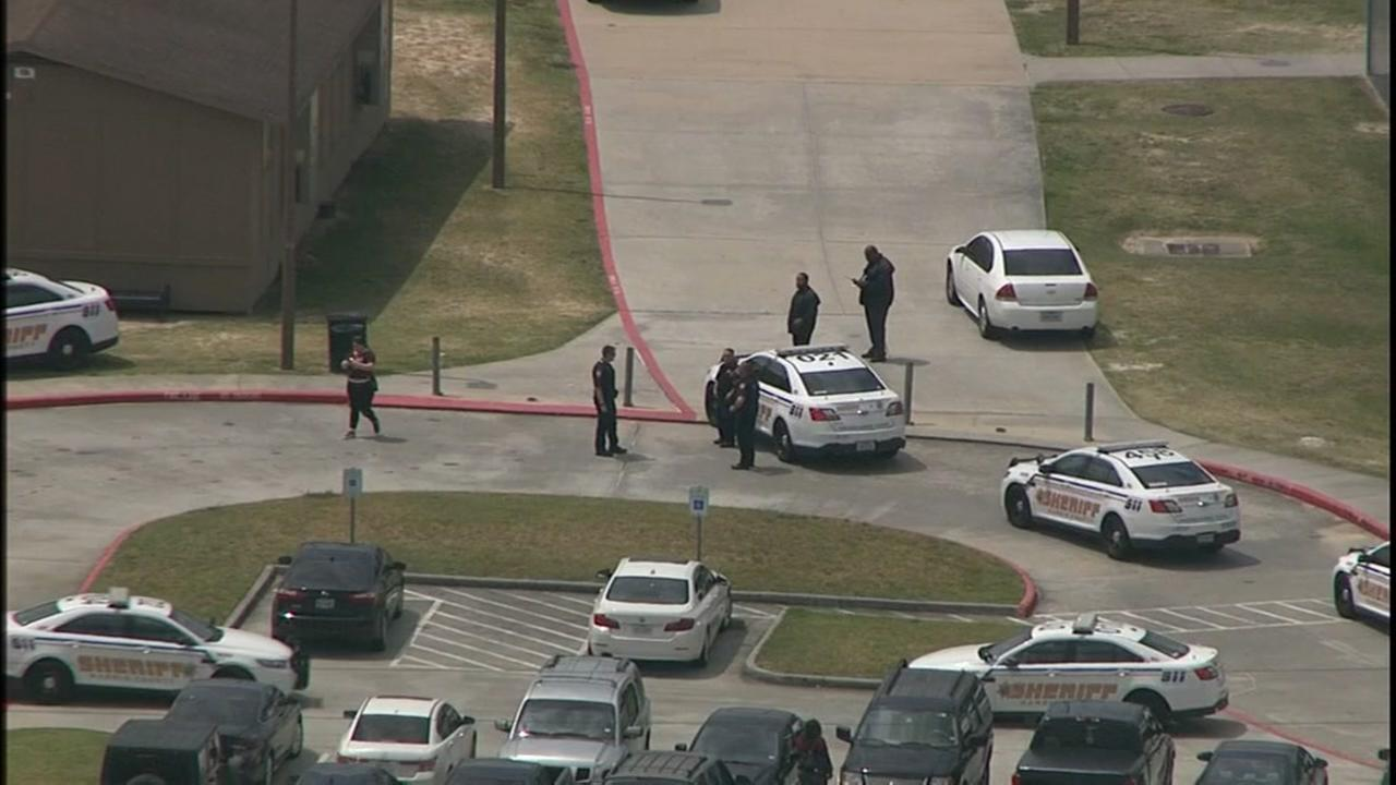 Two robbery suspects arrested inside Dekaney HS