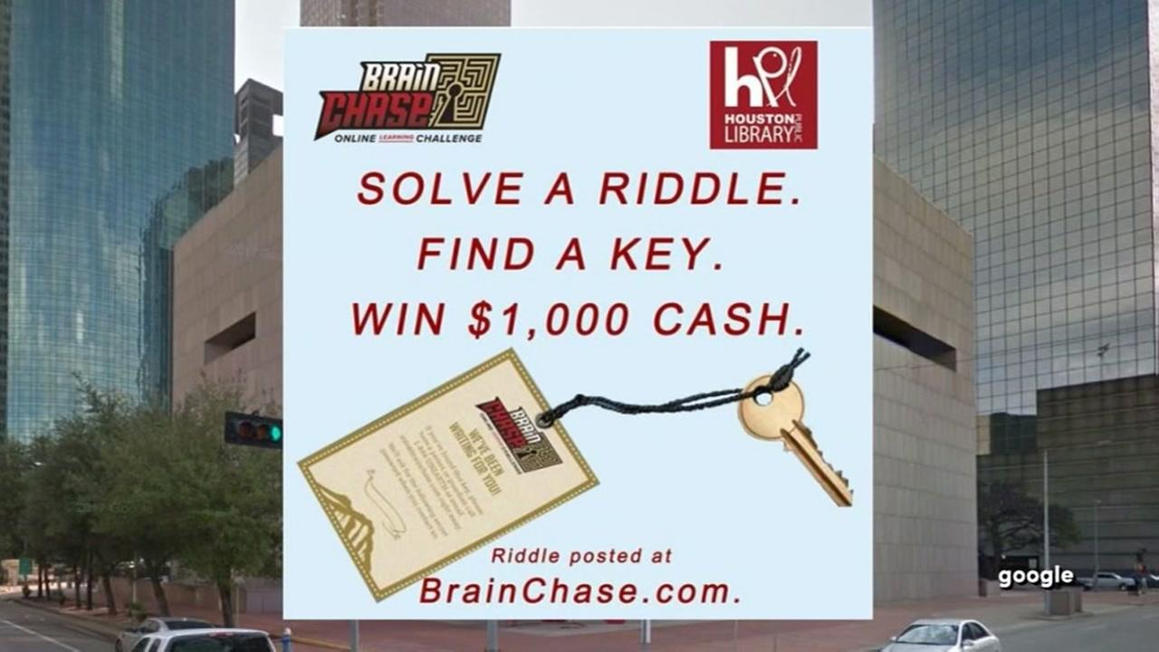 Solve a riddle, win a thousand dollars!