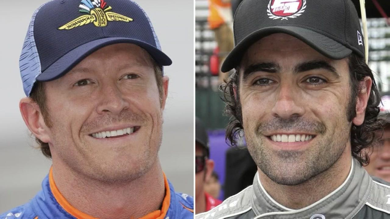 IndyCar stars Dixon and Franchitti robbed at Taco Bell
