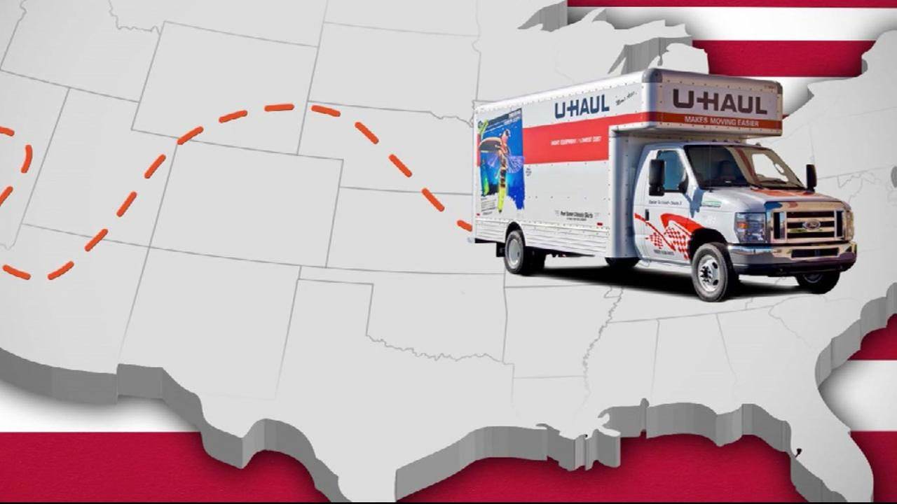 Houston named top U-Haul destination