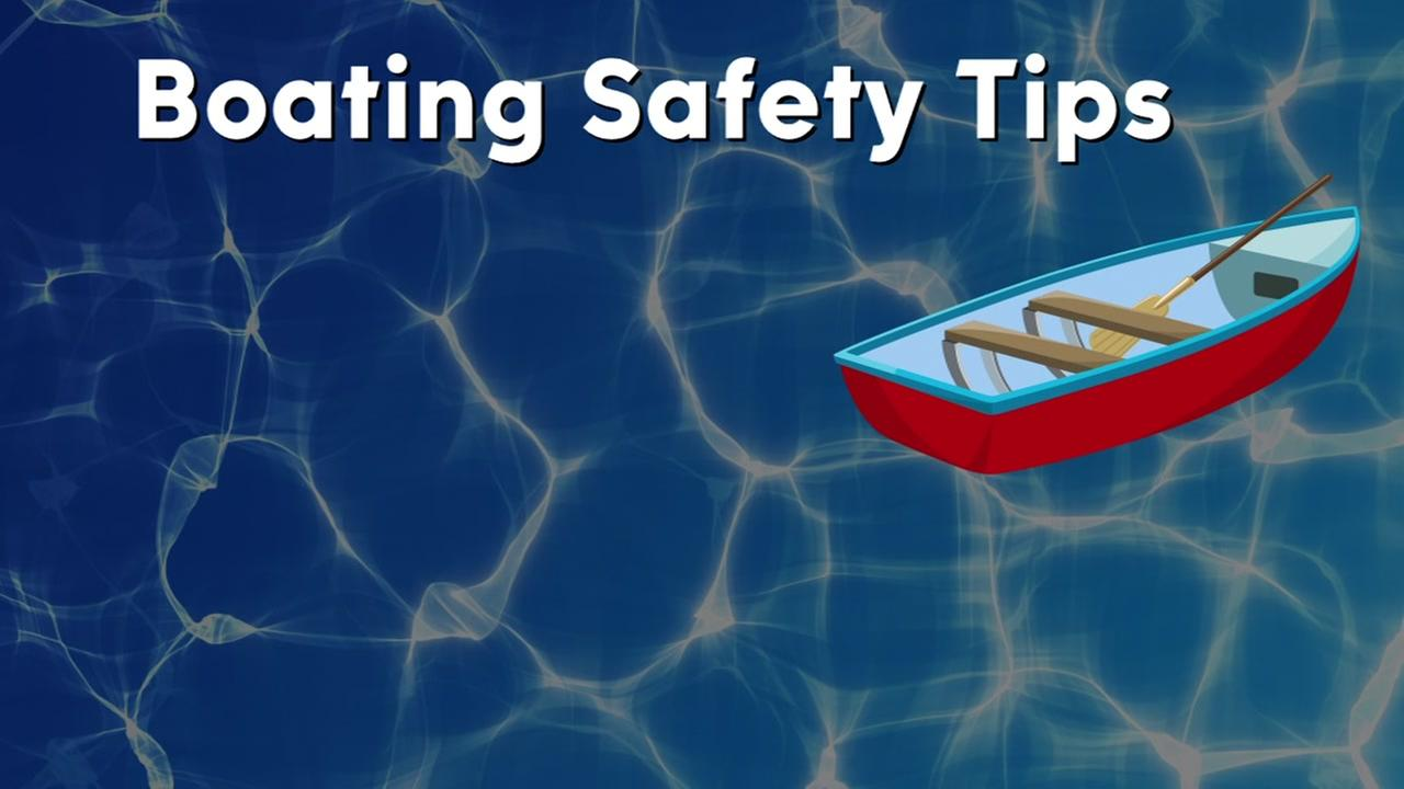 Here are some tips for staying safe on the water