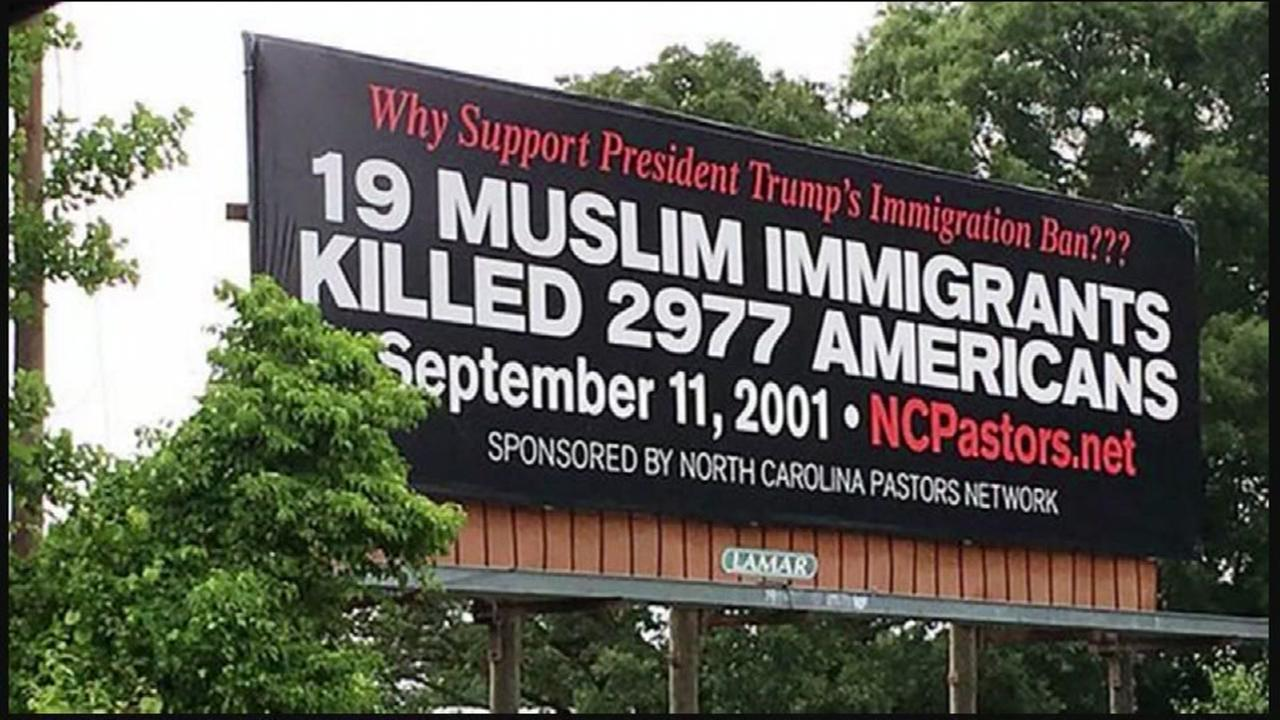 A religious groups billboards sparks debate