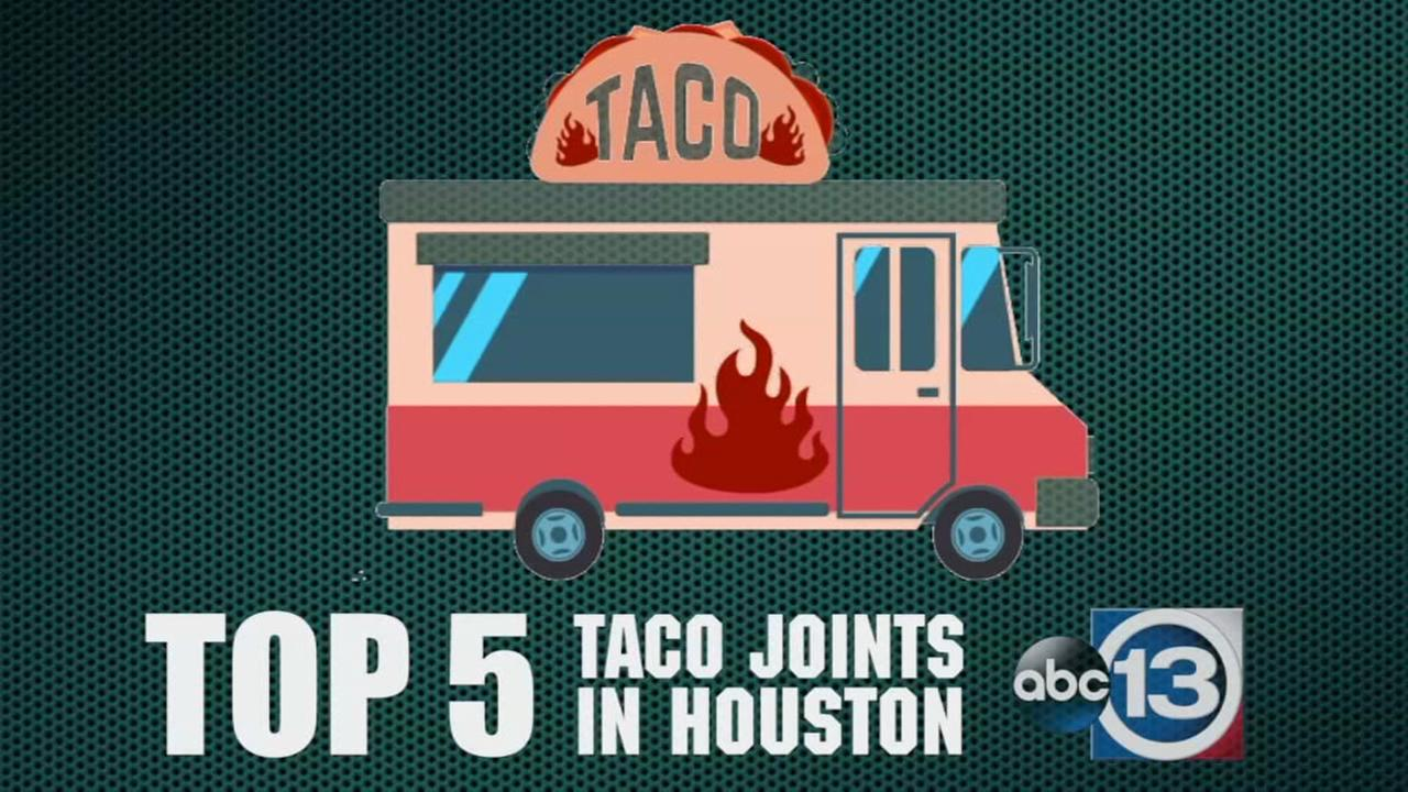 Top 5 taco joints in Houston