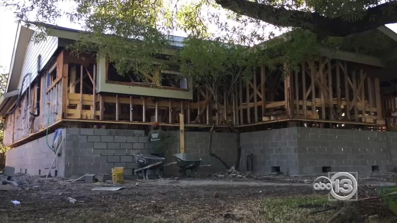 Meyerland residents lift spirits -- and homes -- after years of flooding