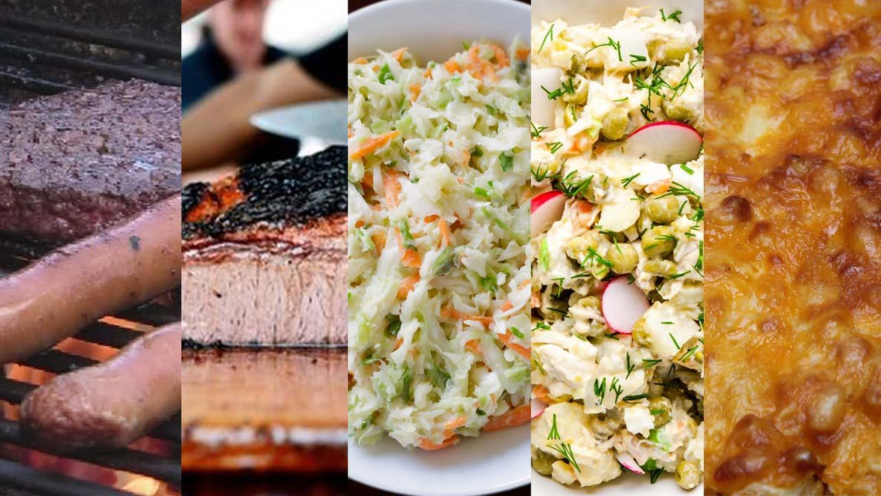 What side dishes are on your plate?