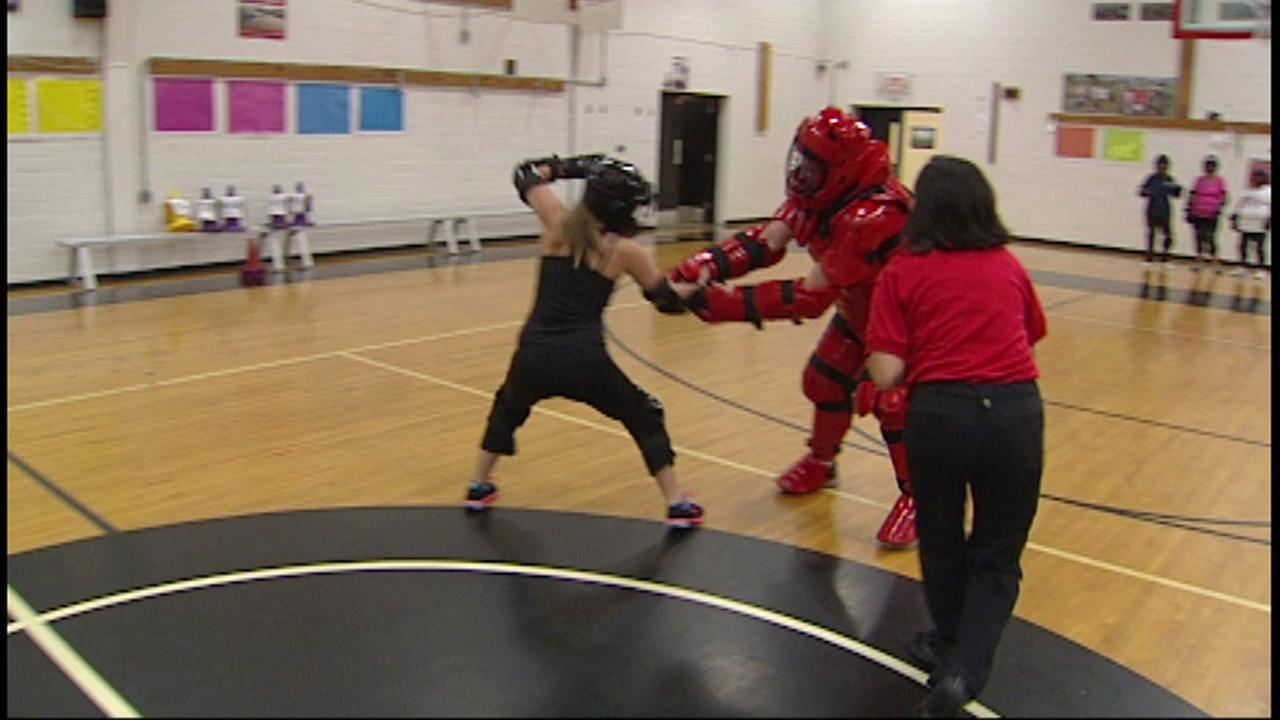 Self-defense training for women