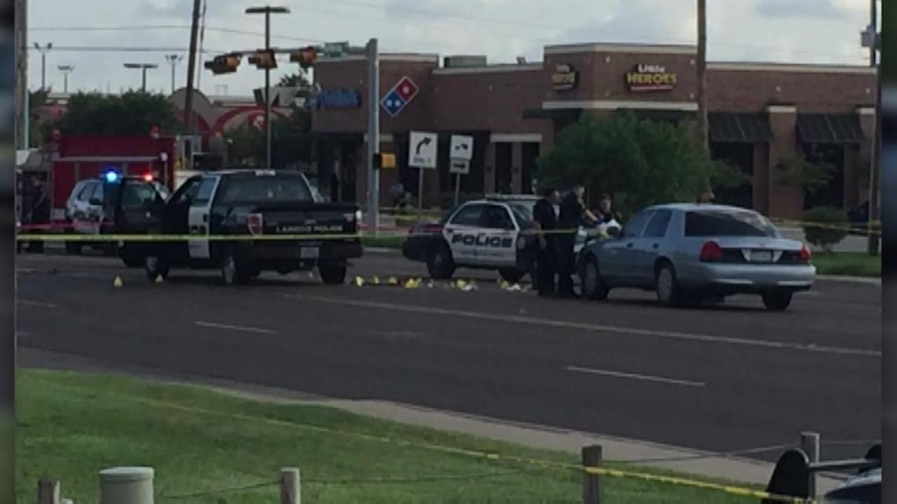 3 officers wounded in Laredo shootout