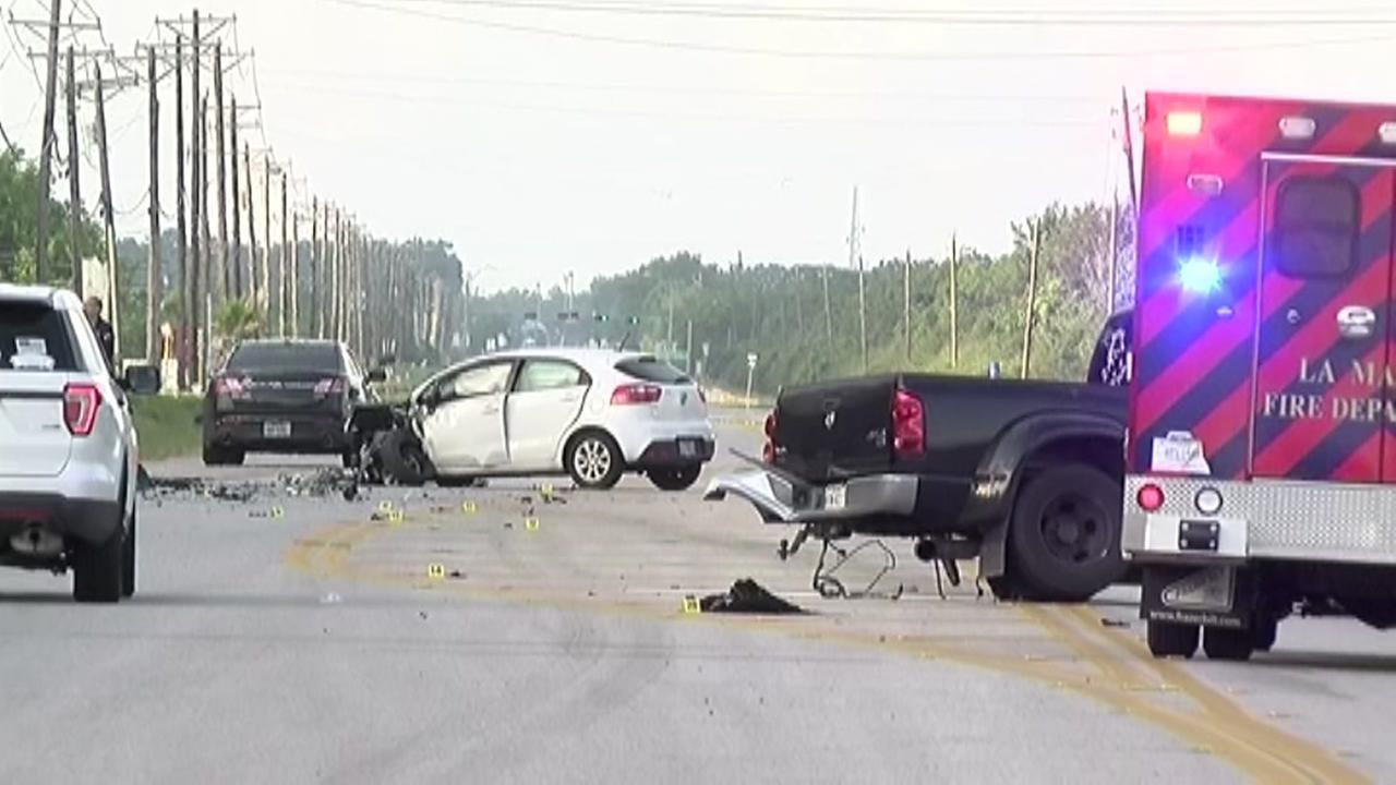 Police investigating shooting involving flipped car