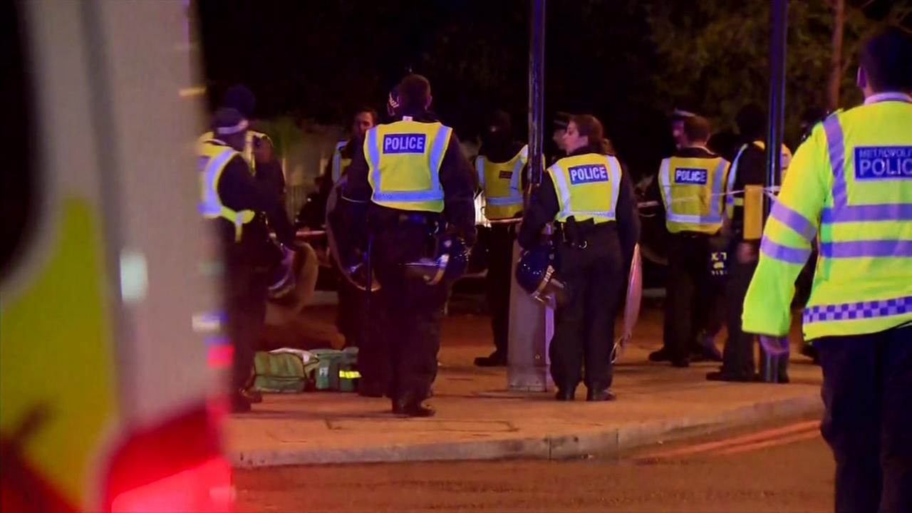 12 arrested in Londons night of terror