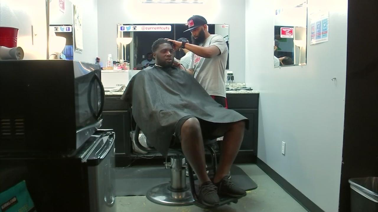 Third Generation Barber Cuts Fresh Fades Mohawks For Both Houstons