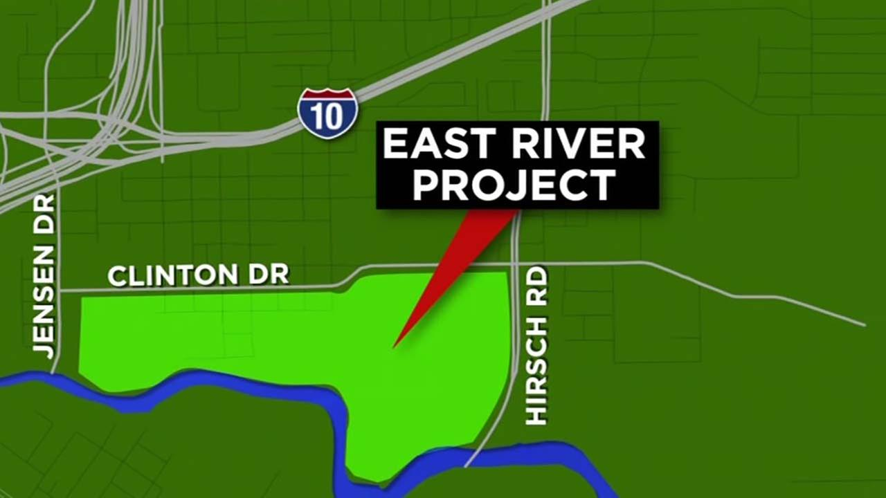 New development project near downtown Houston