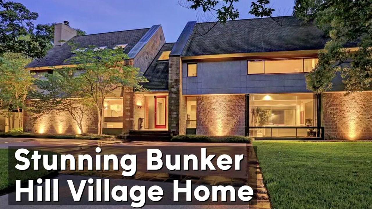 Stunning contemporary home in Bunker Hill Village