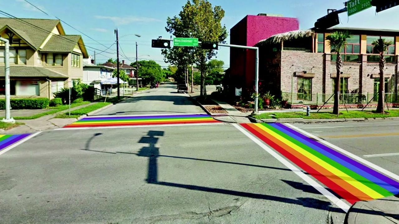 Montrose to get Texas first LGBT pride crosswalk