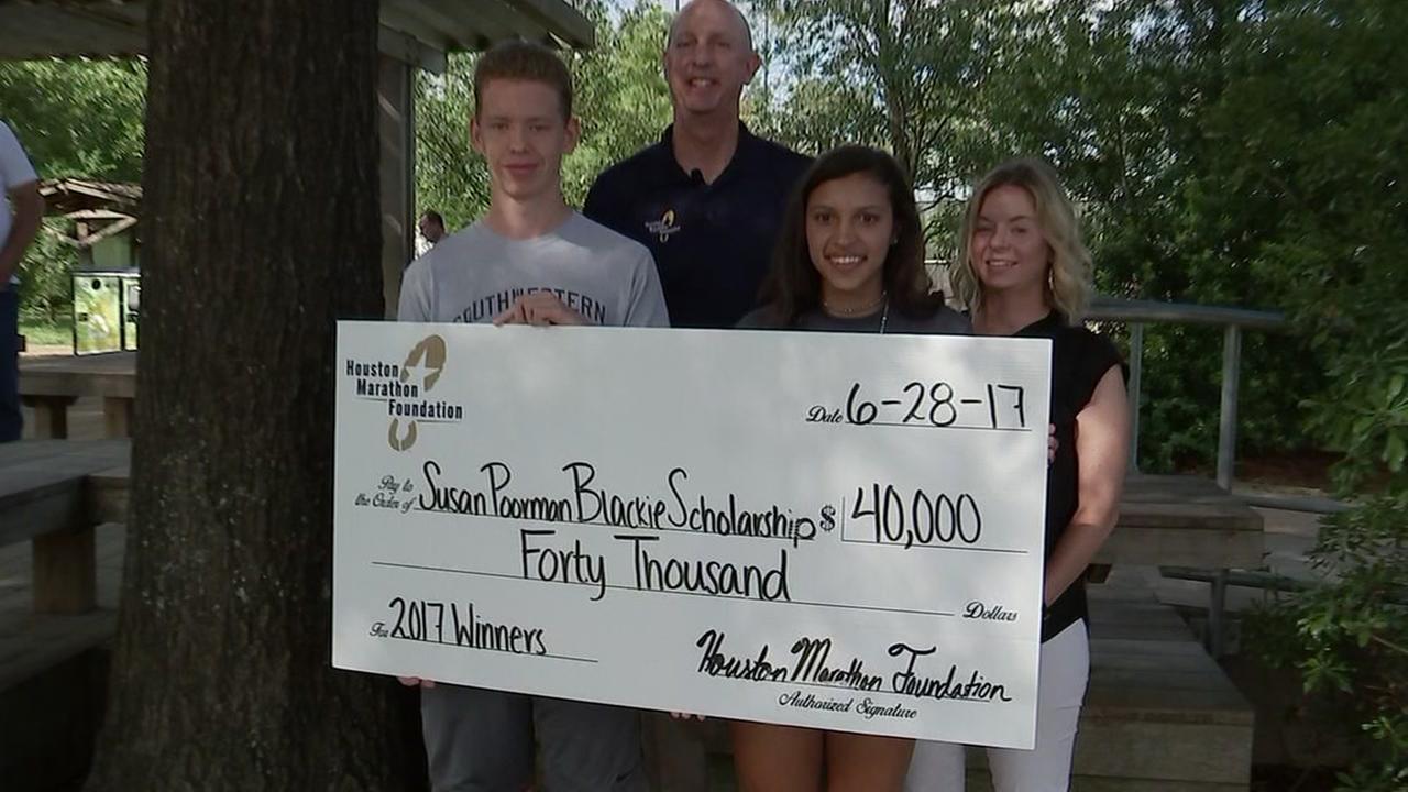 Houston Marathon announces 20-thousand dollar scholarship winners