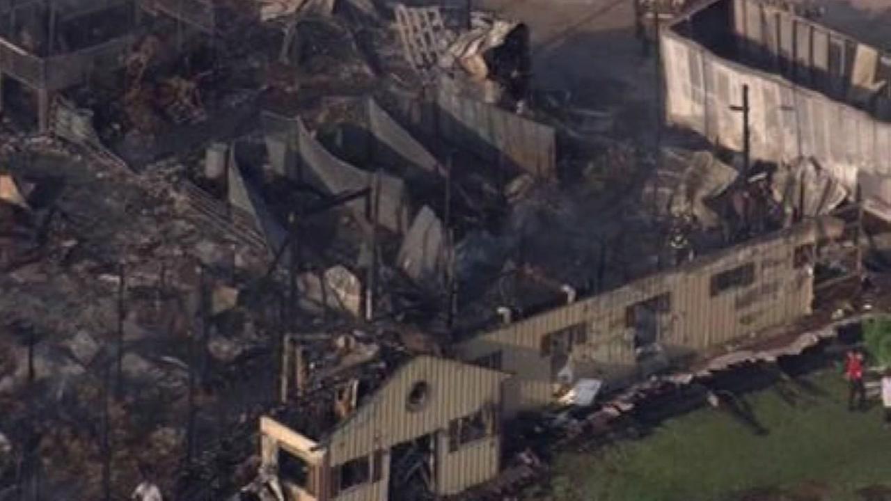 18 horses killed in Plainfield barn fire