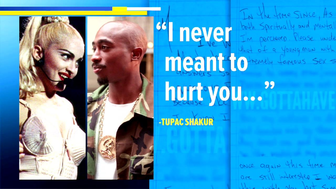 Madonna Stops Auction Of Tupac Letter  AbcChicagoCom