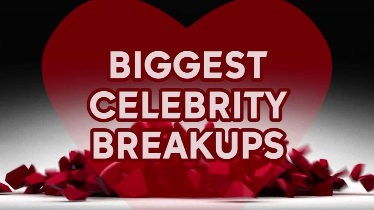 Biggest celebrity breakups