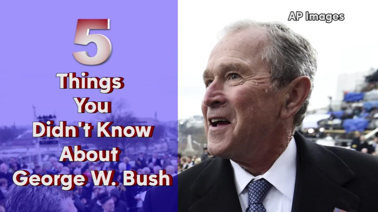 Five things you didnt know about George W. Bush