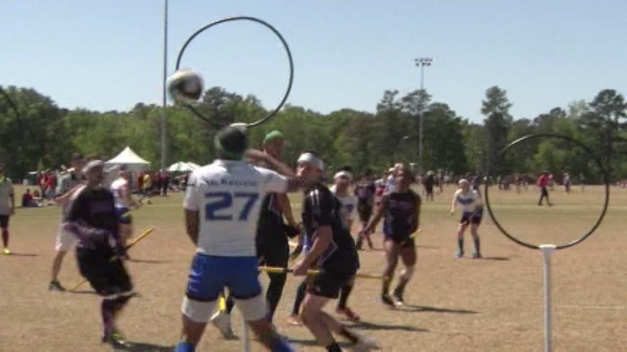 Seekers get ready! The Quidditch Cup is coming to Austin