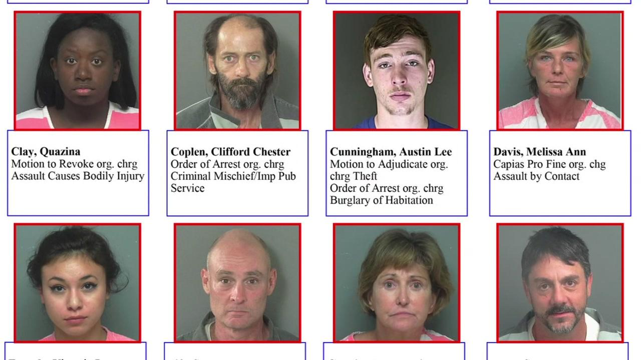 36 fugitives arrested in Montgomery Co. sweep