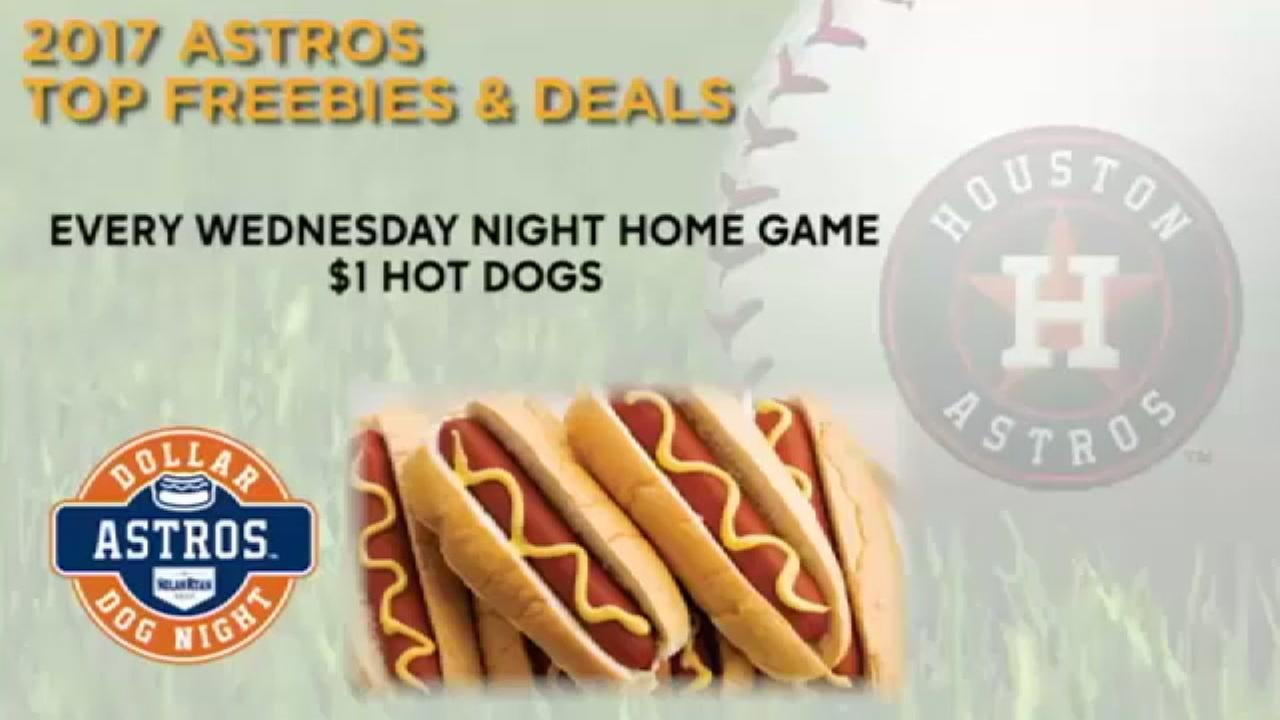 Great baseball and great deals, check out these freebies and deals at Minute Maid Park