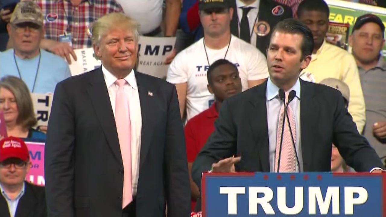 Donald Trump Jr. defends himself.