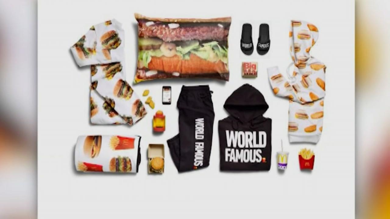 McDonalds to deliver free Big Mac onesies and sweats