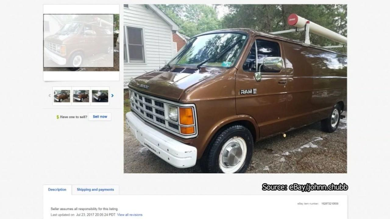 Need to do a stakeout? Bid on this van used by the FBI