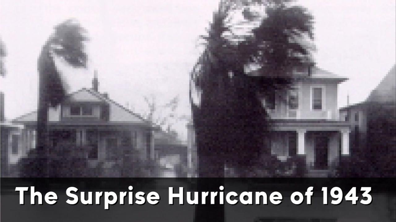 The Texas coast was surprised by a category 2 hurricane in 1943