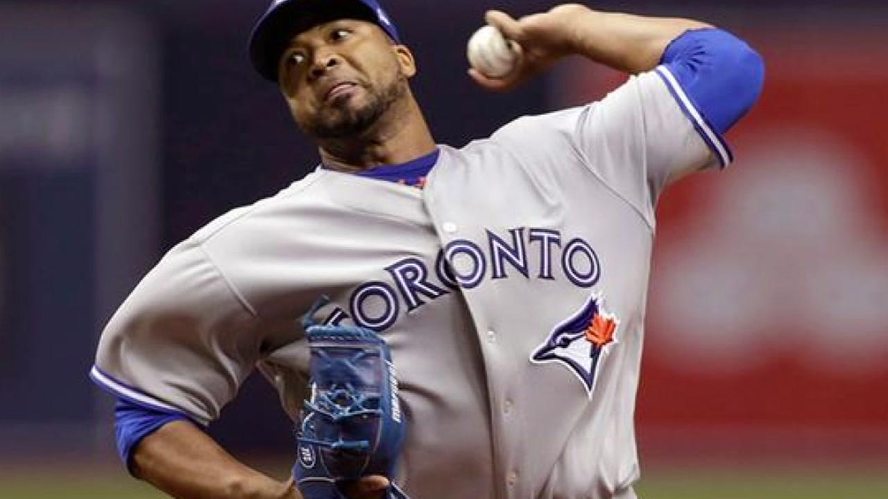 Astros acquire pitcher from the Toronto Blue Jays